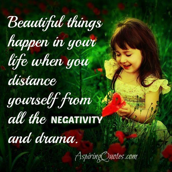 How beautiful things happen in your life